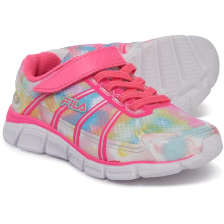 9db2e38be5d1d Fila Speedglide 3 Running Shoes (For Girls) in Multi/Knockout Pink/White