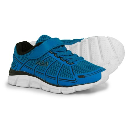 4daffb8bc71 Fila Speedglide 3 Strap Running Shoes (For Boys) in Electricblue Black White