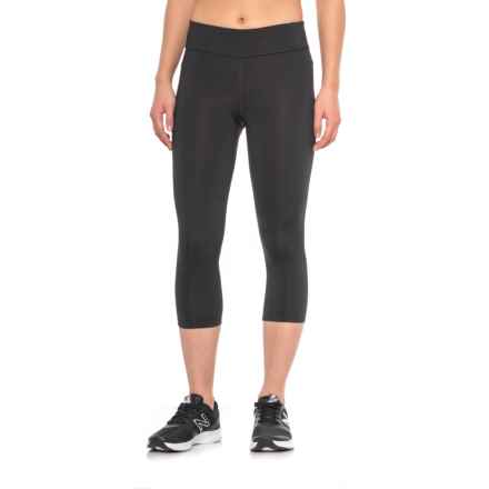 Fila Spirit Tight Capris (For Women) in Blk Blk - Closeouts