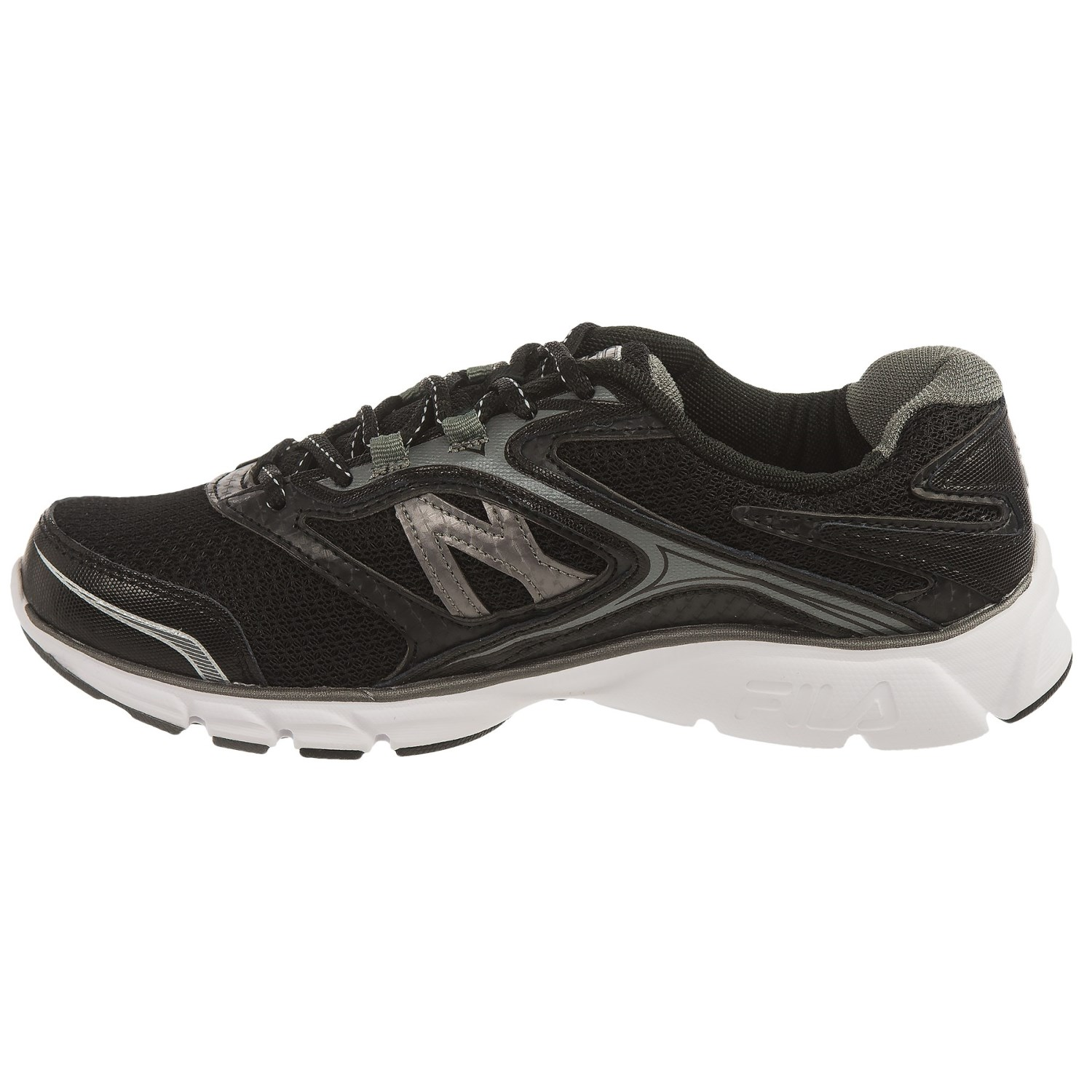 Fila Black Running Shoes Woment