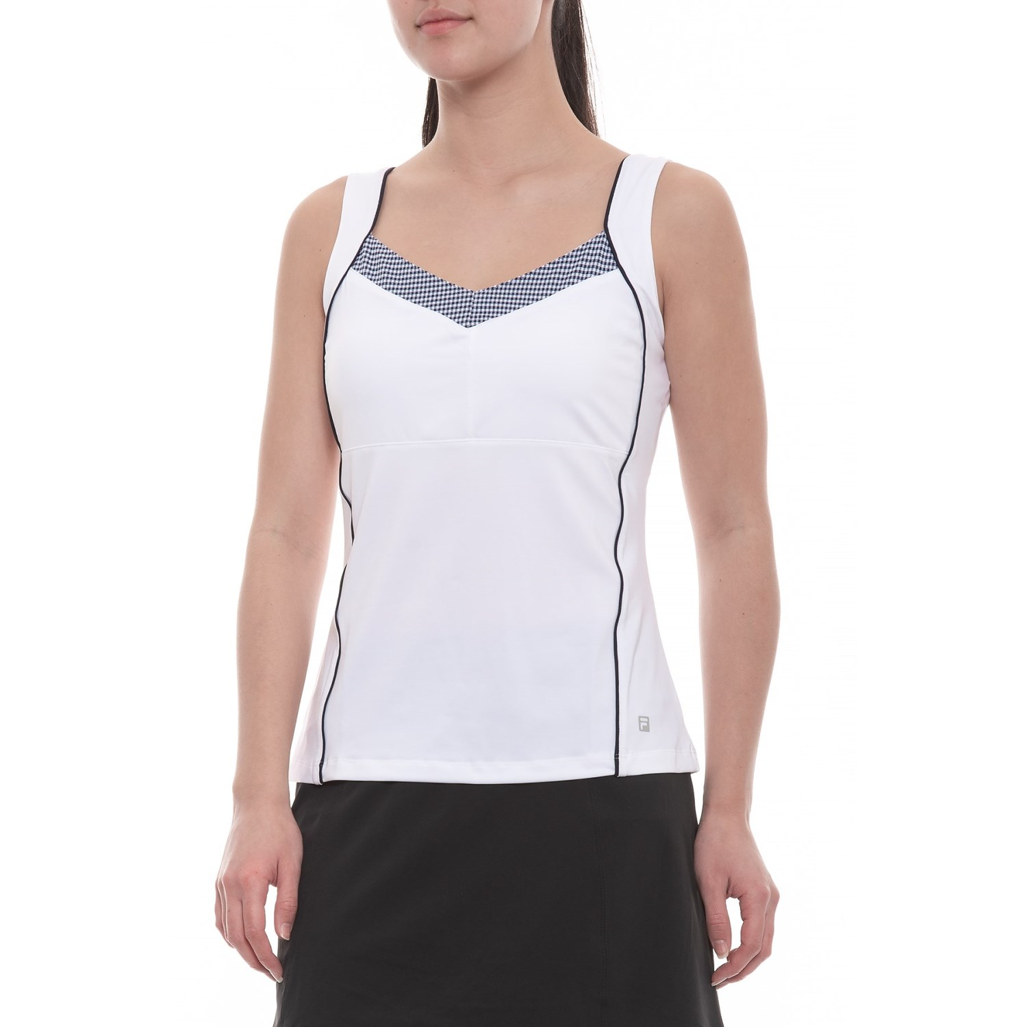 099e1f0edb413 Fila tennis gingham cami golf tank top for women save jpg 1500x1500 Golf  tank