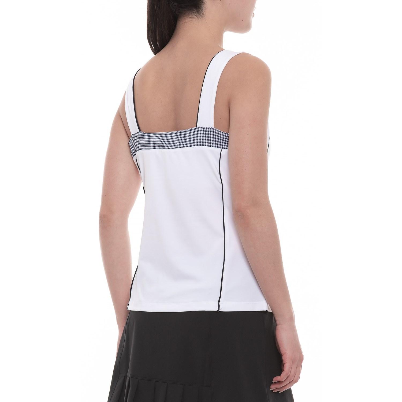 716e37fb15615 Fila Tennis Gingham Cami Golf Tank Top (For Women) - Save 76%