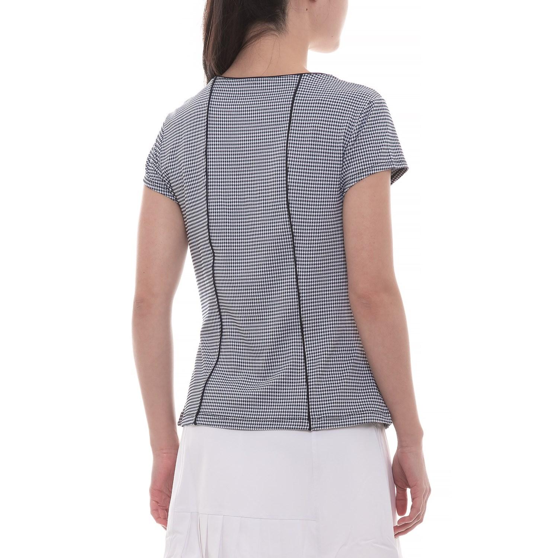 c5b56edf Fila Tennis Gingham Tennis Shirt - UPF 30+, Short Sleeve (For Women)