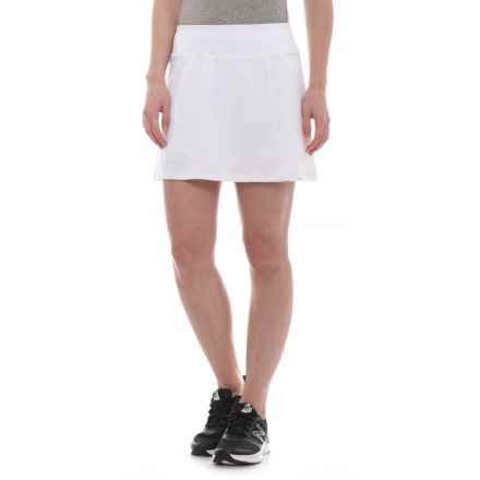 20911893561 Heritage Pleated Tennis Skort (For Women) in White - Closeouts