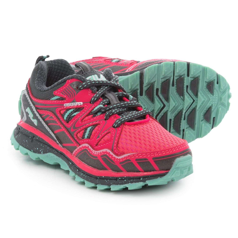 Fila TKO TR 5.0 Trail Running Shoes (For Girls) in Diva Pink Dark c3c3568333ab