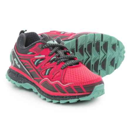 Fila TKO TR 5.0 Trail Running Shoes (For Girls) in Diva Pink/Dark Shadow/Cockatoo - Closeouts
