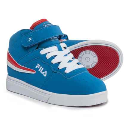 Fila Vulc 13 Sneakers (For Boys) in Turkish Sea/White/Fila Red - Closeouts