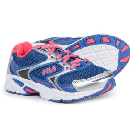 Fila Xtent 3 Running Shoes (For Girls) in Wedge/Dark Pink/White - Closeouts