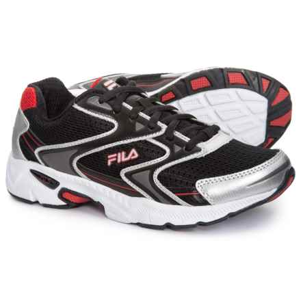 the latest a6159 52823 Fila Xtent 3 Running Shoes (For Little and Big Boys) in Black Metallic