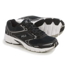 Fila Xtent 4 Running Shoes (For Women) in Black/Black/Metallic Silver - Closeouts
