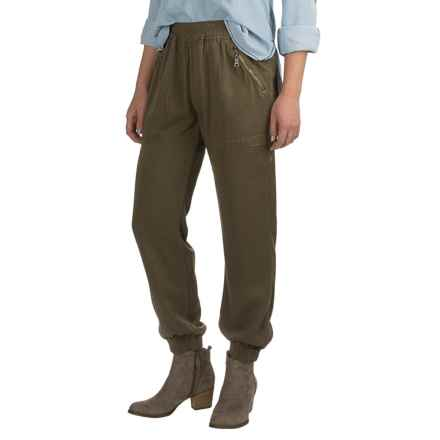 Fillmore America Banded Joggers - TENCEL®-Rayon (For Women) in Olive - Closeouts