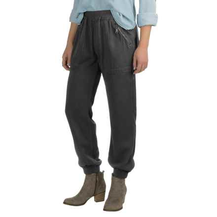 Fillmore America Banded Joggers - TENCEL®-Rayon (For Women) in Raven/Charcoal - Closeouts