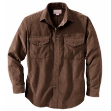 Filson 21-Wale Corduroy Shirt - Long Sleeve (For Men) in Brown - Closeouts