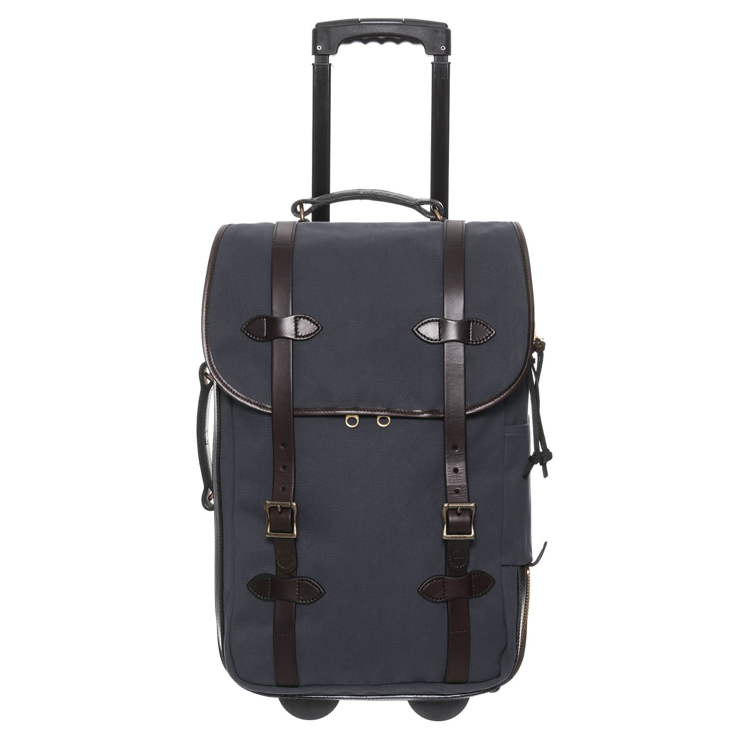 """Filson 22"""" Rugged Twill Rolling Carry-On Suitcase"""