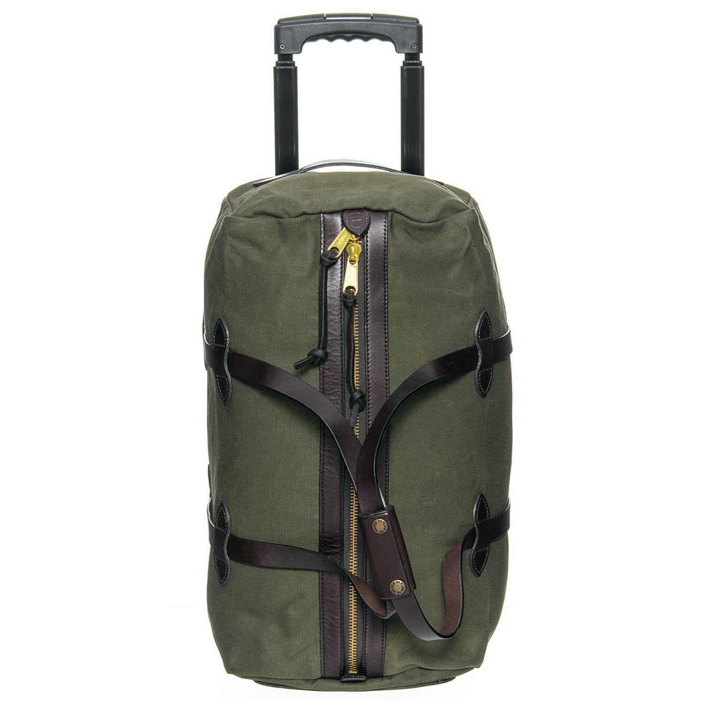 40fb018cc838 Filson 43L Rugged Twill Rolling Duffel Bag - Small in Otter Green ...