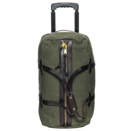 f5ba040e81 Filson 43L Rugged Twill Rolling Duffel Bag - Small in Otter Green