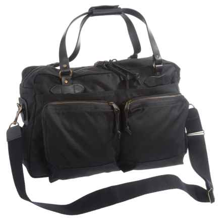 Filson 48-Hour Duffel Bag in Black - Closeouts