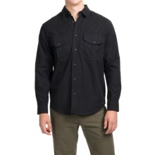 Filson Alaskan Guide Shirt - Long Sleeve (For Men) in Navy - Closeouts