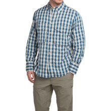 Filson Angler Shirt - Long Sleeve (For Men) in Aspen Blue - Closeouts