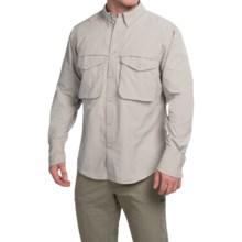Filson Angler Shirt - Long Sleeve (For Men) in Desert Tan - Closeouts
