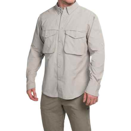 Filson Angler Shirt - Long Sleeve (For Men) in Desert Tan - Closeouts