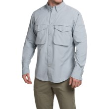 Filson Angler Shirt - Long Sleeve (For Men) in Stone Blue - Closeouts