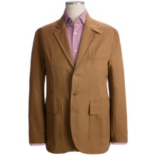 Filson Antique Tin Cloth Blazer (For Men) in Dark Tan - Closeouts