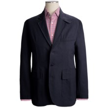Filson Antique Tin Cloth Blazer (For Men) in Navy - Closeouts