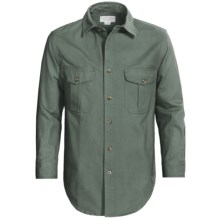 Filson Antique Tin Cloth Shirt - Long Sleeve (For Men) in Slate - Closeouts