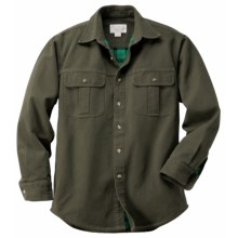 Filson Antique Tin Lined Shirt - Long Sleeve (For Men) in Otter - Closeouts
