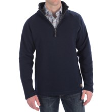 Filson Bridgeport Sweater - Zip Neck (For Men) in Navy - Closeouts
