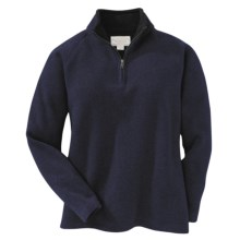 Filson Bridgeport Sweater - Zip Neck (For Women) in Navy - Closeouts