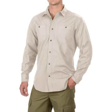 Filson Buckhorn Field Shirt - Cotton, Long Sleeve (For Men and Big Men) in Gray Sky - Closeouts