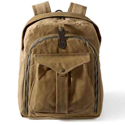 Filson Canvas Camera Backpack in Tan - Closeouts