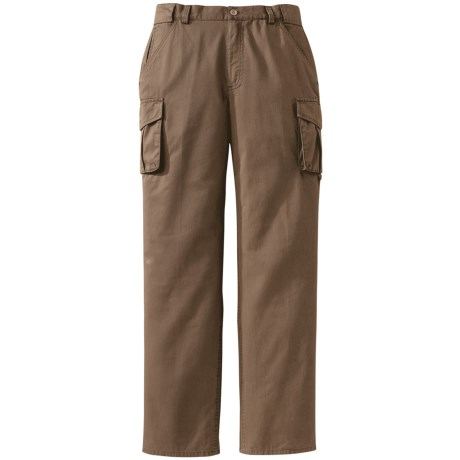 Filson Canvas Cargo Pants (For Women) in Khaki