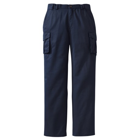 Filson Canvas Cargo Pants (For Women) in Navy