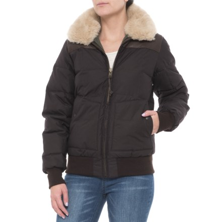 Filson Cascade Down Jacket - 550 Fill Power (For Women) in Mahogany Brown - 5d50b79ac
