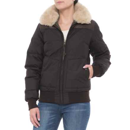 Filson Cascade Down Jacket - 550 Fill Power (For Women) in Mahogany Brown - Closeouts