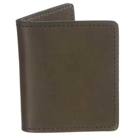 Filson Cash and Card Case - Leather in Moss - Closeouts
