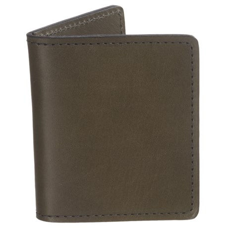 Filson Cash and Card Case - Leather in Moss