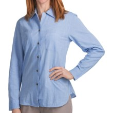 Filson Chambray Shirt - Spread Collar, Long Sleeve (For Women) in Blue - Closeouts
