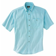 Filson Clarkson Lightweight Shirt - Short Sleeve (For Men) in Light Blue - Closeouts