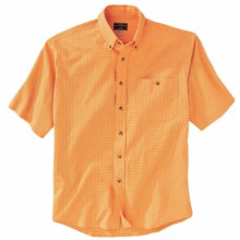 Filson Clarkson Lightweight Shirt - Short Sleeve (For Men) in Orange - Closeouts