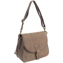 Filson Classic All-Leather Shoulder Bag in Taupe - Closeouts