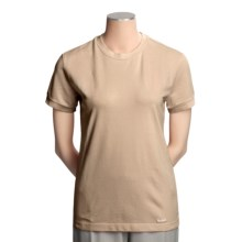 Filson Classic T-Shirt - Stretch Pique Cotton, Short Sleeve (For Women) in Desert Tan - Closeouts