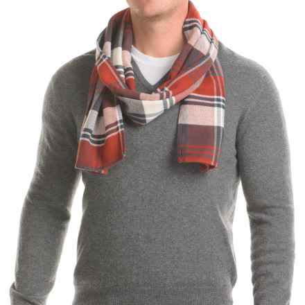 "Filson Cotton Scarf - 72x12"" in Red/Cream/Blue - Closeouts"