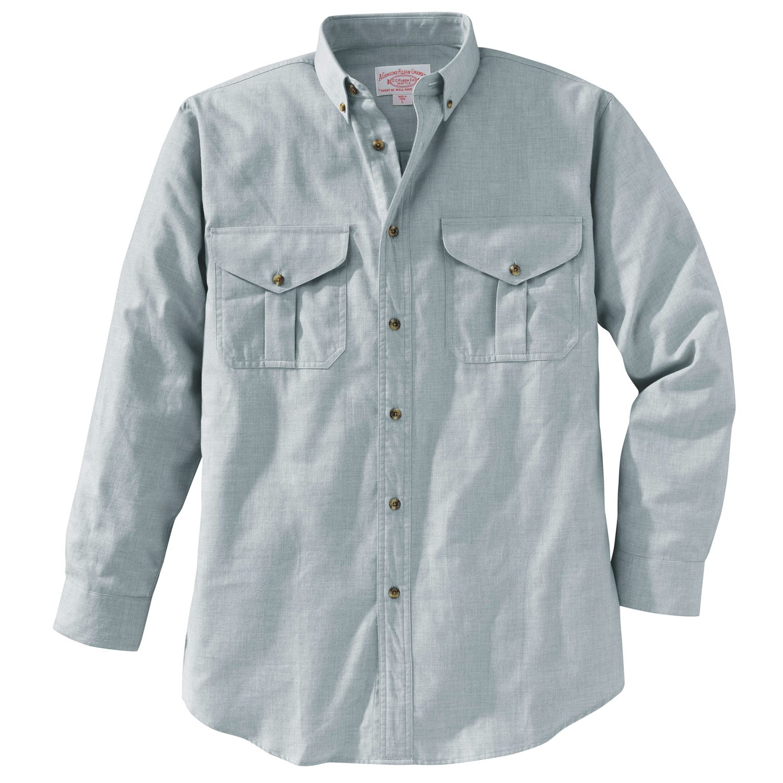filson cotton wool button down shirt long sleeve for