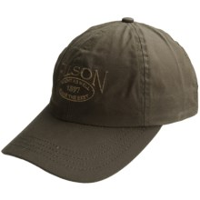 Filson Cover Cloth Cap - Cotton (For Men) in Otter Green - Closeouts