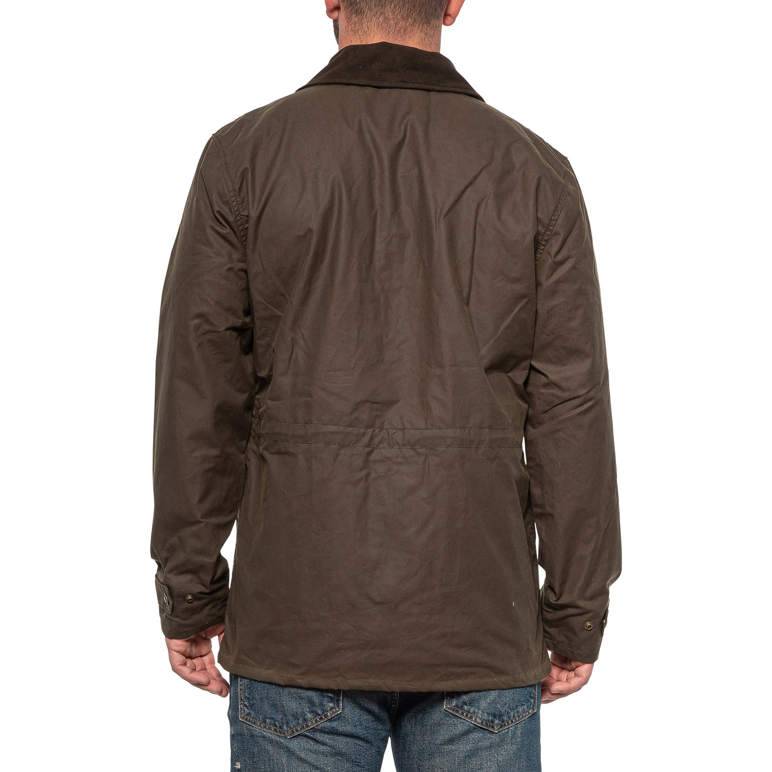 Filson Cover Cloth Mile Marker Coat Waxed Cotton For Men