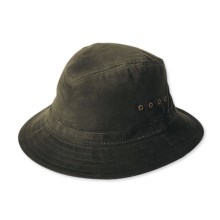 Filson Cover Cloth Packer Hat - Crushable (For Men) in Otter Green - Closeouts